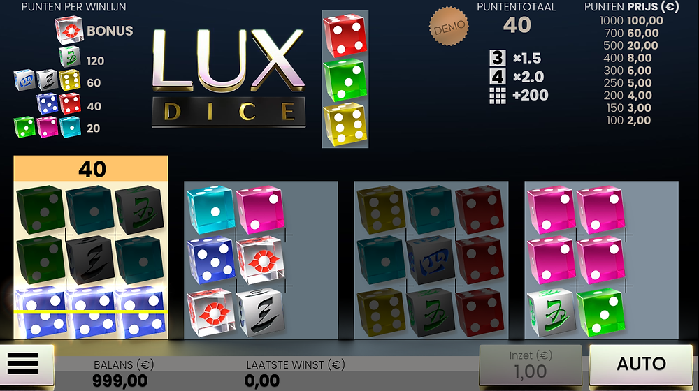 Airdice Lux Dice Game