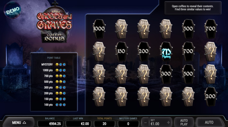 Blog LuckyGames.be - Ghosts and Graves Dice Game Airdice