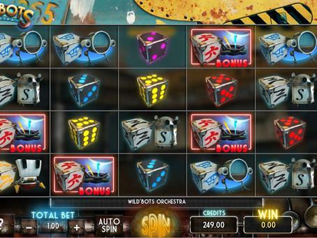 Nouvelle Diceslot sur Luckygames: Streak Wild'Bots Orchestra