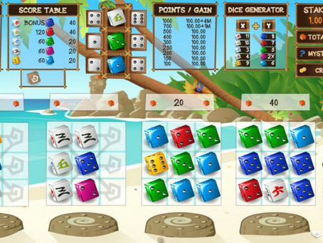 Wild Paradise Dice Game - LuckyGames Casino