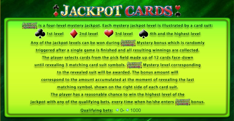 Blog LuckyGames.be - EGT jackpot Cards
