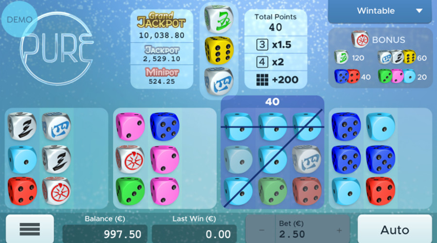 Blog LuckyGames.be - Pure Dice Game Airdice