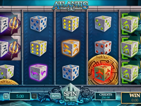 Partez à la recherche des trésors perdus de l'Atlantide avec la nouvelle dice slots Atlantis