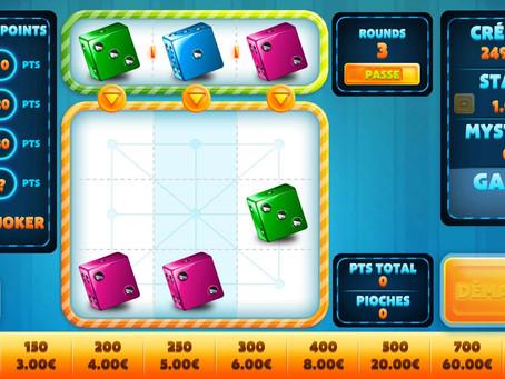 Découvrez la Dice 9 sur luckygames, un jeu ou vous avez le contrôle!