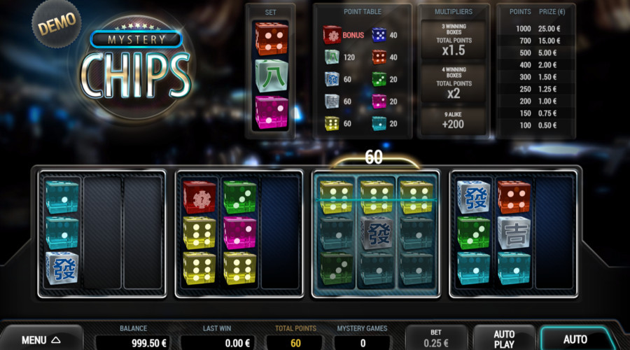 Blog LuckyGames.be - Mystery Chips Dice Game Airdice