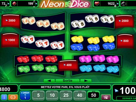 EGT Neon Dice Slot - Casino LuckyGames