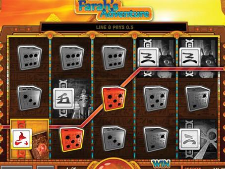Dice slot Pharaoh's Adventure - LuckyGames Casino