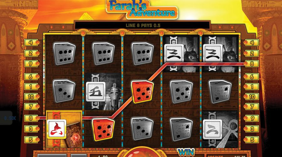 Blog LuckyGames.be - Gaming1 Dice Slot Pharaoh's Adventure