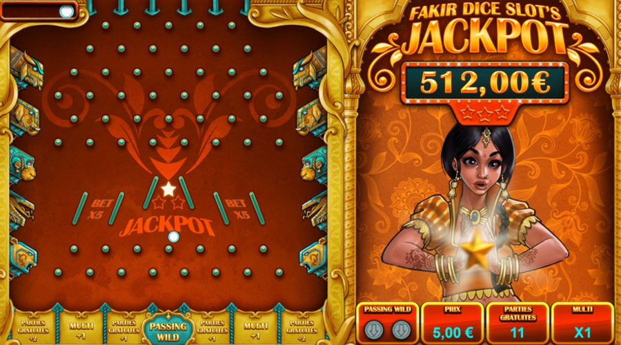 Blog LuckyGames.be - Gaming1 Dice Slot Fakir