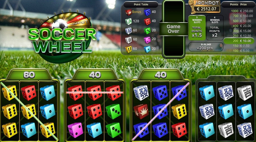 Blog LuckyGames.be - Soccer Wheel Dice Game Airdice