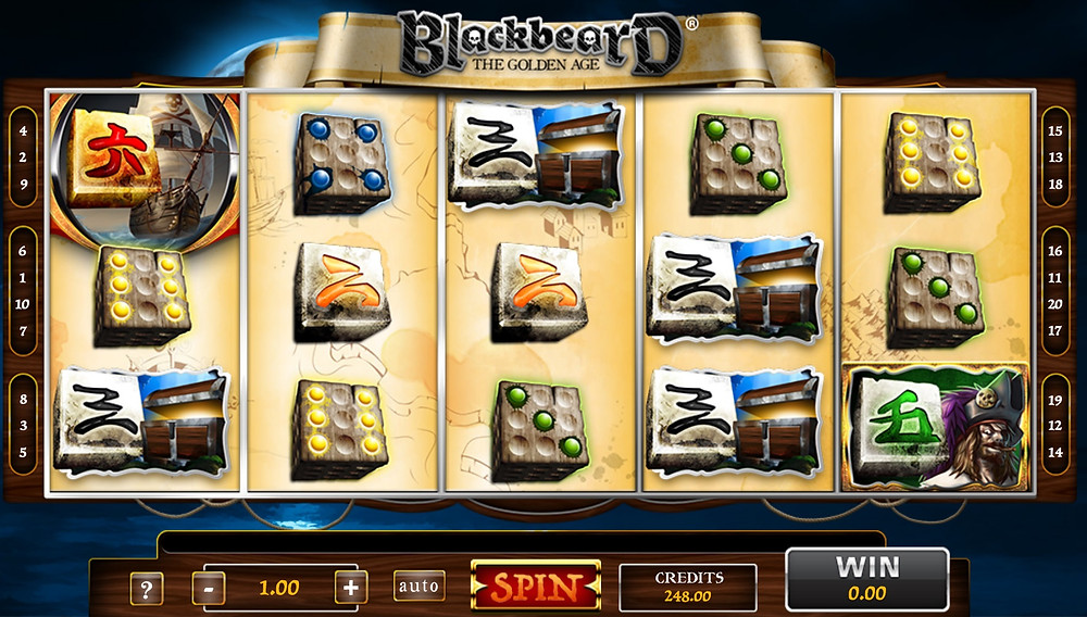 Blog LuckyGames.be - Gaming1 Dice Slot Blackbeard