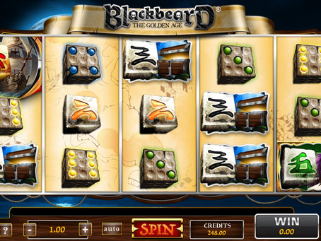 BlackBeard dice slot sur Luckygames.be