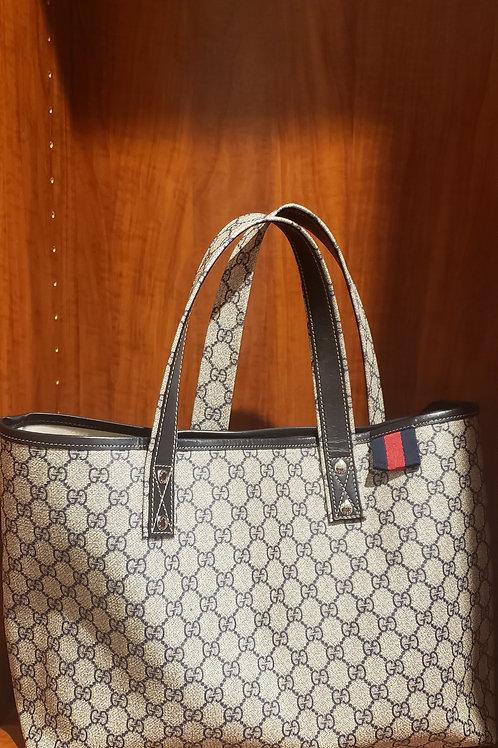 Authentic Gucci Monogram Tote Bag
