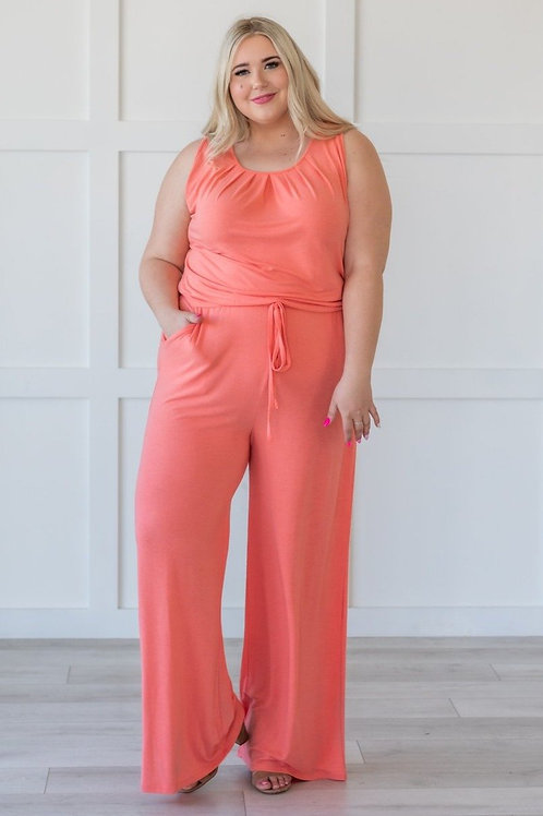 Saturday Sun Jumpsuit Casual Comfy and Stylish Up to size 3X