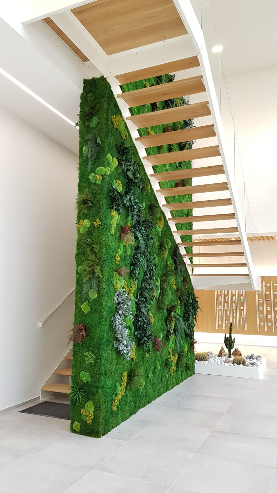 Bespoke Moss Wall Installation