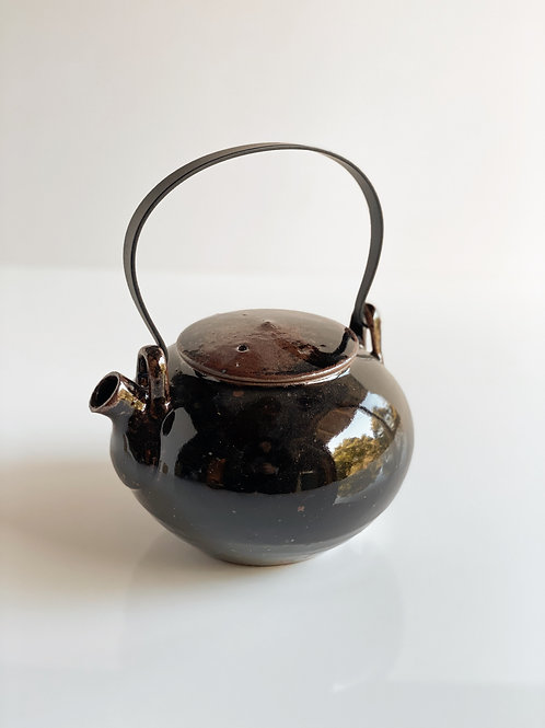 Tea Pot Candy Black Handle
