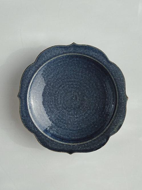 Chakra Plate L Blue Jeans