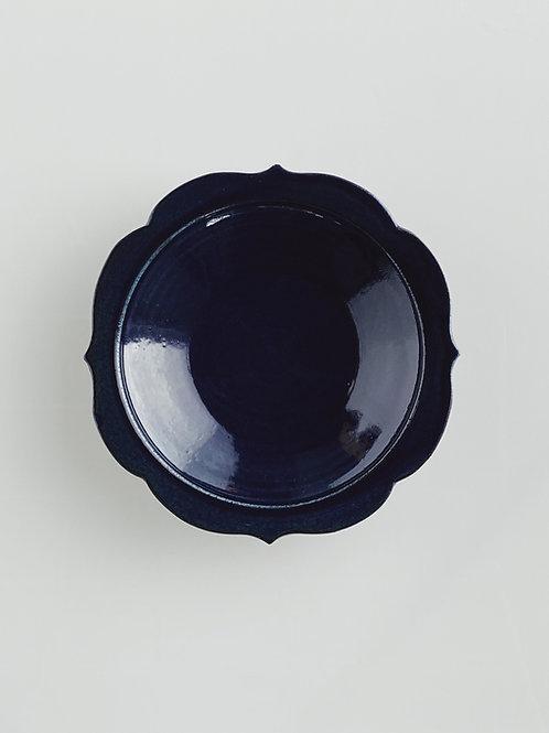 Chakra Plate M Dark Blue