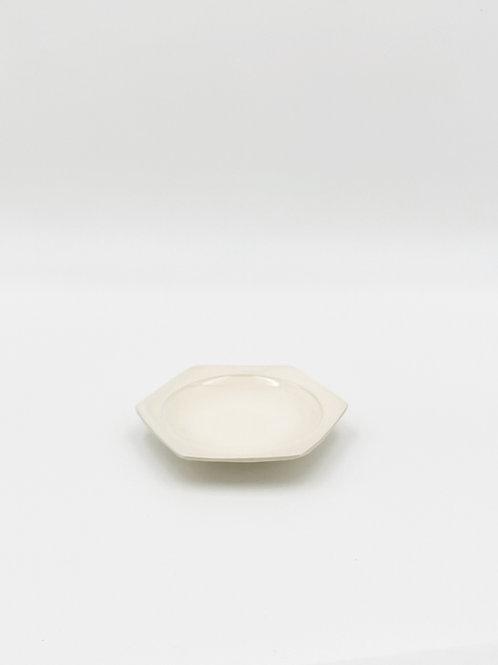 ハニカム 皿 S 白