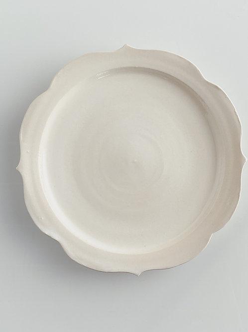 Chakra Dinner Plate White