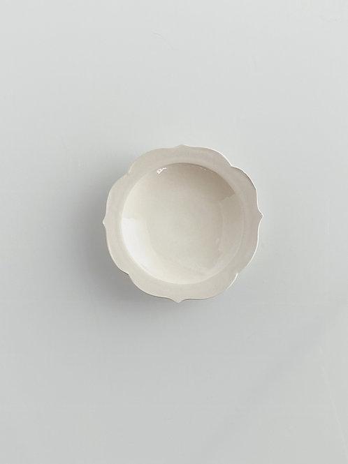 Chakra Plate S White