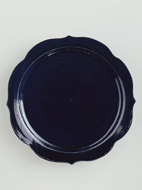 Chakra Dinner Plate Dark Blue