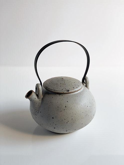 Tea Pot Quail Black Handle