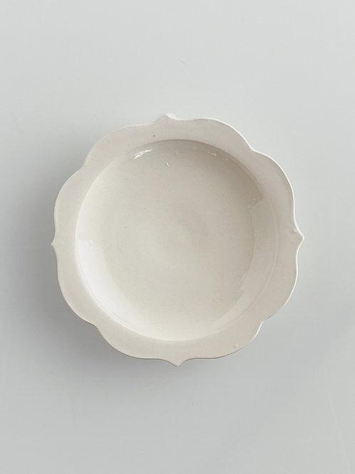 チャクラ皿 M 白