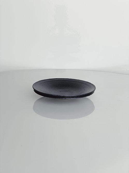 Double Lip Plate S Black