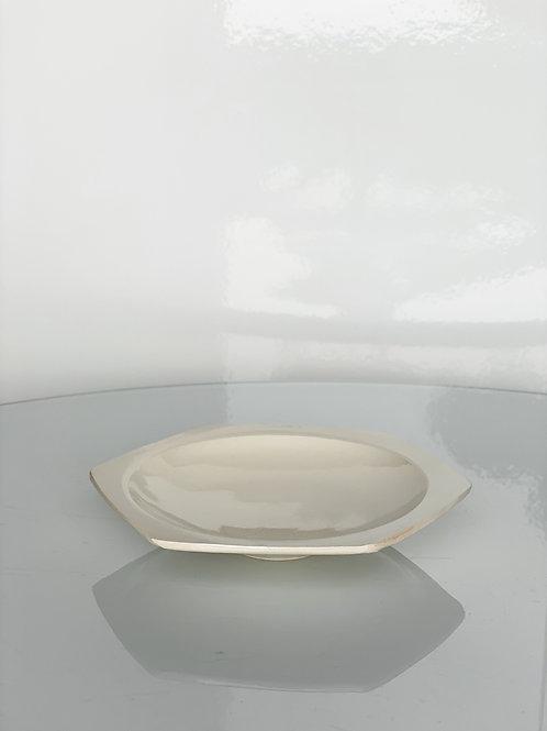 Honeycomb Plate M White