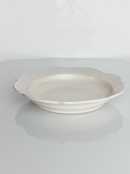 Chakra Pasta Bowl White