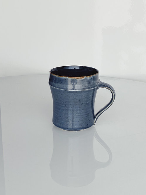 Tall Bamboo Mug Blue Jeans/Dark Blue