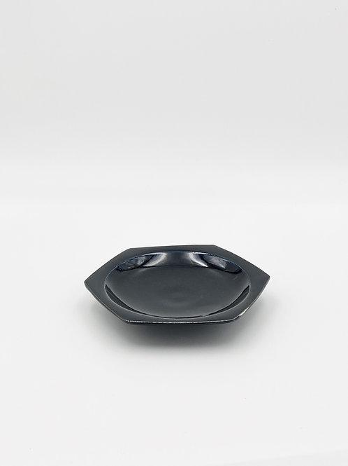 ハニカム皿 M ダークブルー