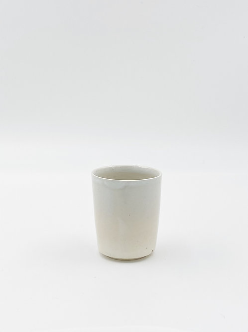 Straight Cup White