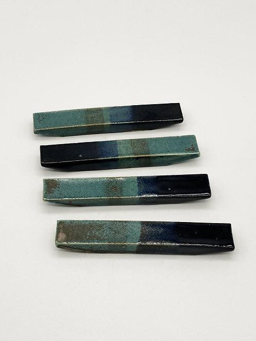 Cutlery Rest Green/Dark Blue