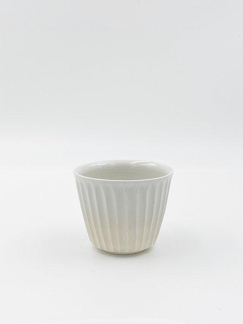 Fluted Sobachoko White