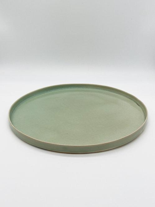 平皿 XL 緑青磁
