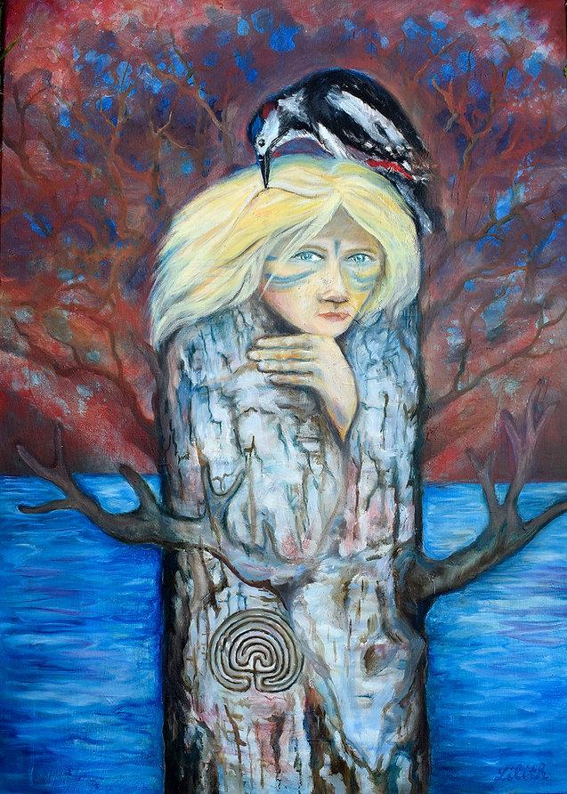 Žena v strome