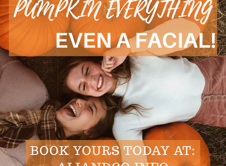 Pumpkin Facial!