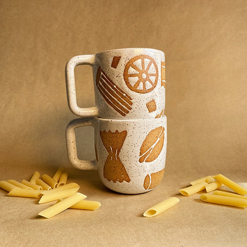noodle doodle mug (12 oz)