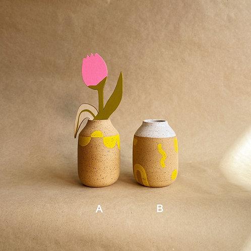 sun spots vases