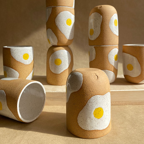 sunny-side-up cup