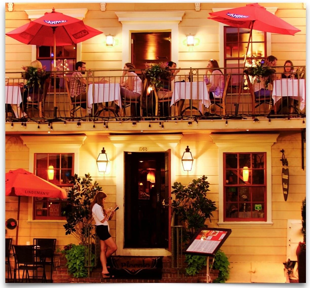 Romantic Italian Dc Restaurant Ristorante Piccolo United