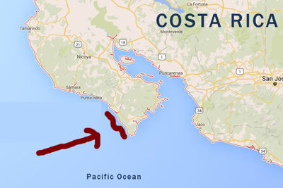 Lost GoPro 2016 Costa Rica Location