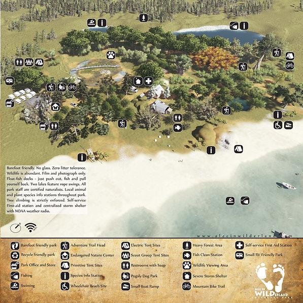 Adventure Park Map