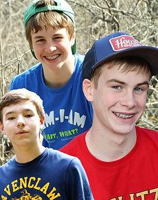 Sam, Zane, Jack - WILDsides