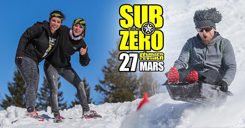 SUB-ZERO RACE EVENT sub zero subzero win