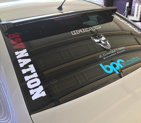 HSV NATION Window front/rear Stickers