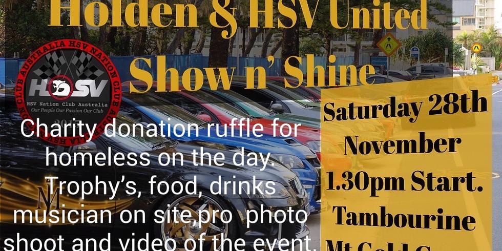 Holden & HSV United Show n' Shine