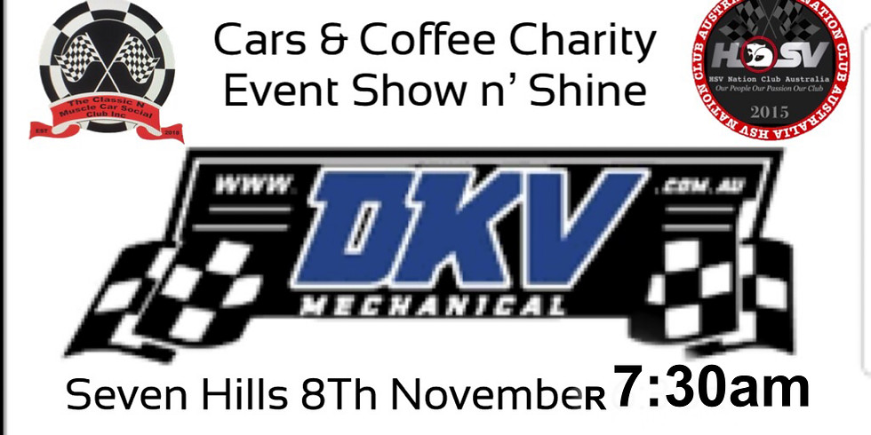 Cars & Coffee Charity Event & Show n' Shine